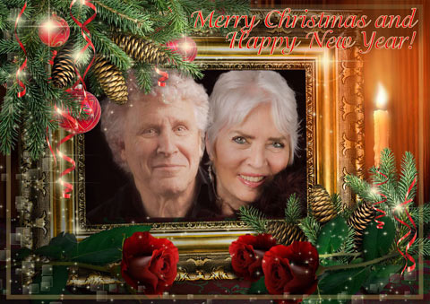 Xmas Card Xie and Philip 2014 x mas greetings 20 merry x mas