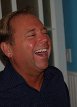Jim offutt our host in Holywood
