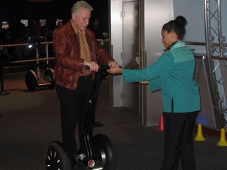 Philip on segway bike