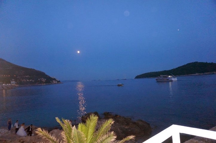 Dubrovnik full moon  2