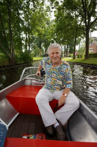 philip in giethoorn summer 2013